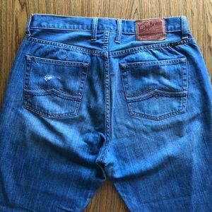 Men's Lucky Brand Jeans - distressed Size 34